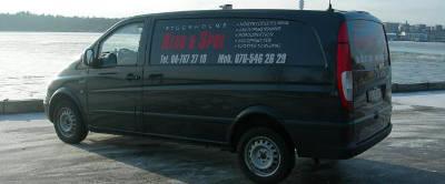 Servicebil för Stockholms Rens & Spol